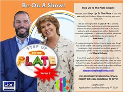Step Up to the Plate are Looking for New Contestants for Season 2
