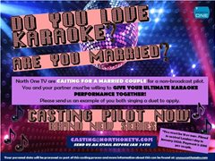 Casting for a Married Couple Who Love Karaoke