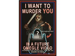 Scream Queen/King Victims Wanted for Youtube Omegle Scare Videos