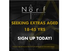Norf Casting Are Seeking Extras Aged 18-45 - MANCHESTER