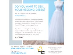 Selling a Wedding Dress? New TV Show Needs You