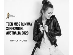 Search for Teen Miss Runway Supermodel Australia 2020