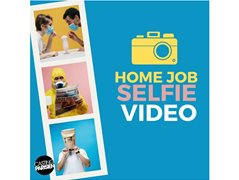 Extras Wanted for Work From Home/Online Content Project 'Video Home Selfie'