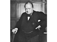 Sir Winston Churchill Voice Actor Impression Needed