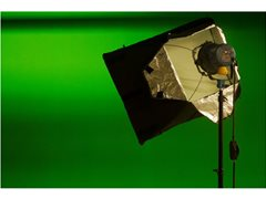 Web Presenter for YouTube Energy News Reports Green Screen with Auto-cue