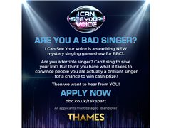 Terrible Singers Needed for New BBC1 Singing Show