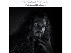 Complimentary Professional Headshot Sessions in our Wrexham Studio