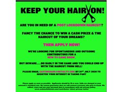 Contestants Wanted for Brand New Game Show 'Keep Your Hair On""