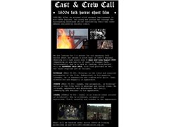 Male Actor Needed for Medieval Horror Student Short