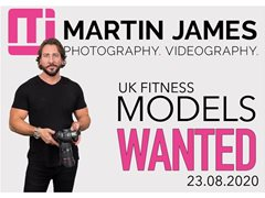 Fitness Models Wanted for TFP