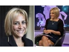 Emily Maitlis Look-alike or With Similar Features for Short Online Role
