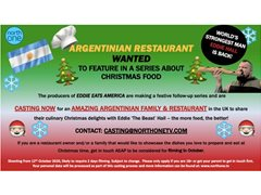 Amazing Argentinian Family & Restaurant Wanted for Food Series
