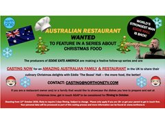 Amazing Australian Family & Restaurant Wanted for Food Series
