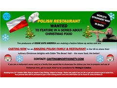 Amazing Polish Family & Restaurant Wanted for Food Series