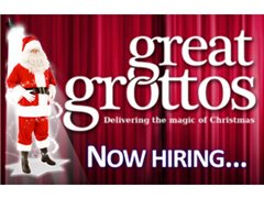 Father Christmas Needed for Dobbies Aylesbury Garden Centre