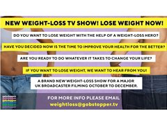 Participants Needed for New Weightloss TV Series