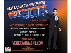 "NOW CASTING: Teams of 3 for GSN's ""Get A Clue"""