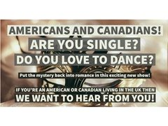 Single Americans & Canadians Living in the UK Who Like to Dance - Pilot