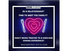 New Relationship Couple Wanted for Fun BBC Studios Pilot