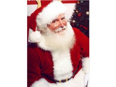 Male Aged 50 for Santa Claus Double for Dark Christmas Short Film