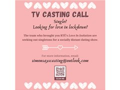 Northern Irish Singles Wanted for Socially Distant Dating Show