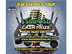 Musicians for Online Talent Competition - $500 USD Prize