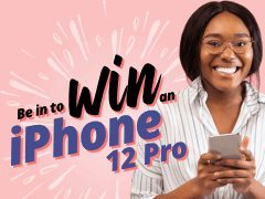 Fancy a new iPhone 12? Apply for free and you could win one!