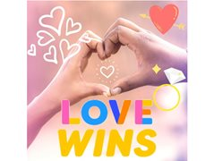 Love Wins! Even if it Takes a Few Tries…