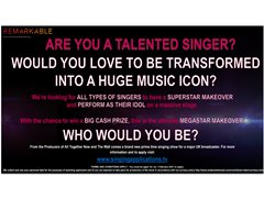 New TV Show Seeks Talented Singers