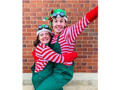 Christmas Elves required for home garden visits for December dates