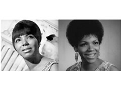 Carolyn and Erma Franklin lookalikes for ITV AUTOPSY