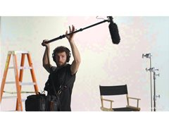 Perchman (Boom Mic Operator) with High end Equipment