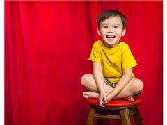 Boy Aged 6-7 for Dairy Based Online Content (From Shoulders Down) $500