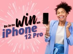 CLOSING SOON: Fancy a new iPhone 12 Pro? Apply now and you could win one!