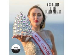 Candidates for the Miss Canada Globe 2020 Beauty Pageant