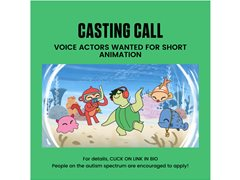 Voice Actors Wanted for Children's Short Animation - MEAA Rates