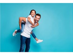 Family (Dad + Daughter) for Community Safety Msg Video 1 x day $800 + GST
