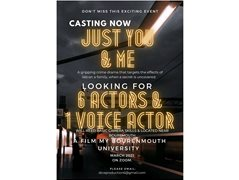 35-50 Year Old Actress Needed for Student Crime Drama - Acting From Home