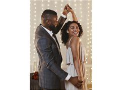 Black or Mixed Race Dance Couple for Photoshoot/Video
