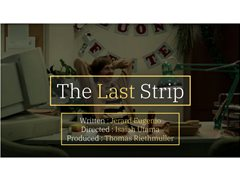 Four Actors Required for Comedy/Action Short Film - The Last Strip