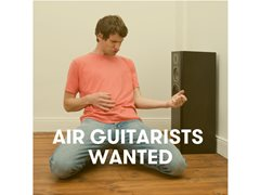 Air Guitarists Wanted for Contest at Vivid Sydney
