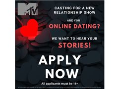 MTV UK Casting for New Dating Show