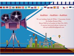 Actors Needed for Self-Funded Indian Film in London