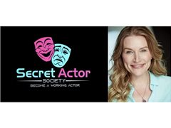 Be in to Win 'Secret Actor Society' Membership & Mentoring