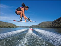Lead Actors for Wakeboarding Stock Footage