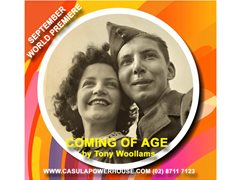 Actors Required for World Premiere at Casula Powerhouse of 'Coming of Age'