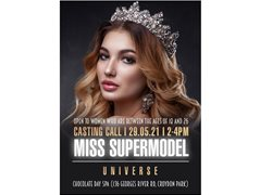 Looking for the Next Miss Supermodel Universe