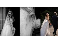Female and Male Model for Styled Wedding Shoot