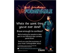 Looking for People with Unforgivable Stories of Things They Have Done