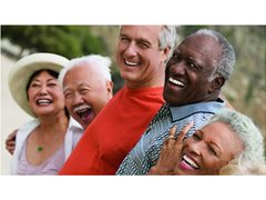 Over 60's from Various Non-Caucasian Ethnicities for Photoshoot